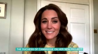 Duchess of Cambridgeappears on This Morning after joining forces with National Portrait Gallery