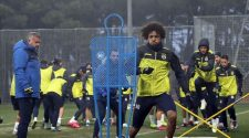 Fenerbahce resumes training after corona break
