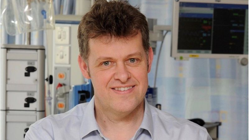 Dr Peter Young, anaesthetist and intensive care specialist