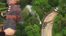 Large water main break in Upper St. Clair