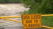 More than a dozen homes in Roanoke being evacuated due to flood