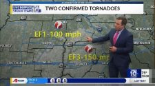 Two tornadoes confirmed and rated across Acadiana