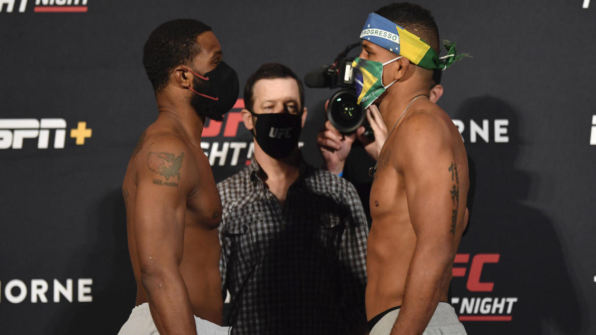 UFC Fight Night results -- Tyron Woodley vs. Gilbert Burns: Live updates, fight card, highlights, start time