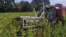 Hemp farming in Germany, and a review of harvesting technology