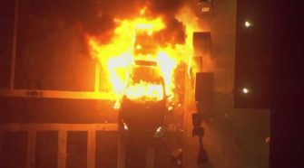 15-year-old Framingham teen charged in Boston Police cruiser fire