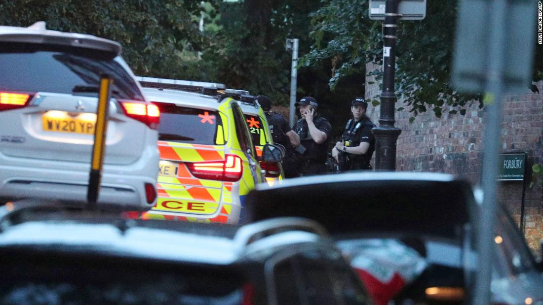 Reading park stabbing declared terrorist incident, by UK police