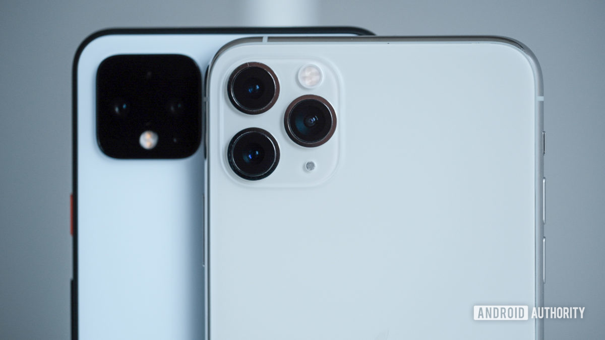 Pixel 4 XL vs iPhone 11 Pro Max cameras