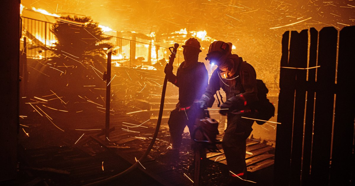 Op-Ed: More than cheers, firefighters need healthcare
