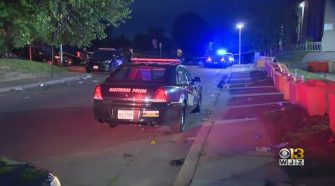 Baltimore Police Officer Shot In Torso While Breaking Up A Large Party – CBS Baltimore