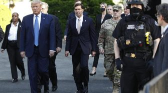 """Bill Barr says """"Secret Service recommended"""" Trump go to bunker"""