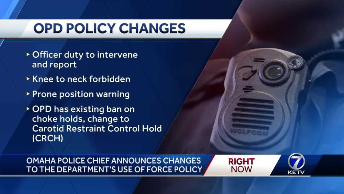 Breaking down each of OPD's policy changes