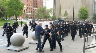 Buffalo Police Officers Suspended After Shoving 75-Year-Old Protester