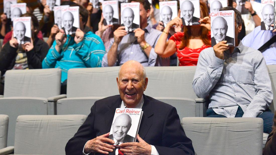 Carl Reiner, longtime comedy legend, dies at 98