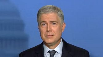 Gorsuch draws personal attacks for breaking ranks on gay rights