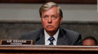 Lindsey Graham backs top general's apology for appearing with Trump after force used on protesters