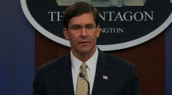 Mark Esper: Defense chief breaks with Trump on response to protests