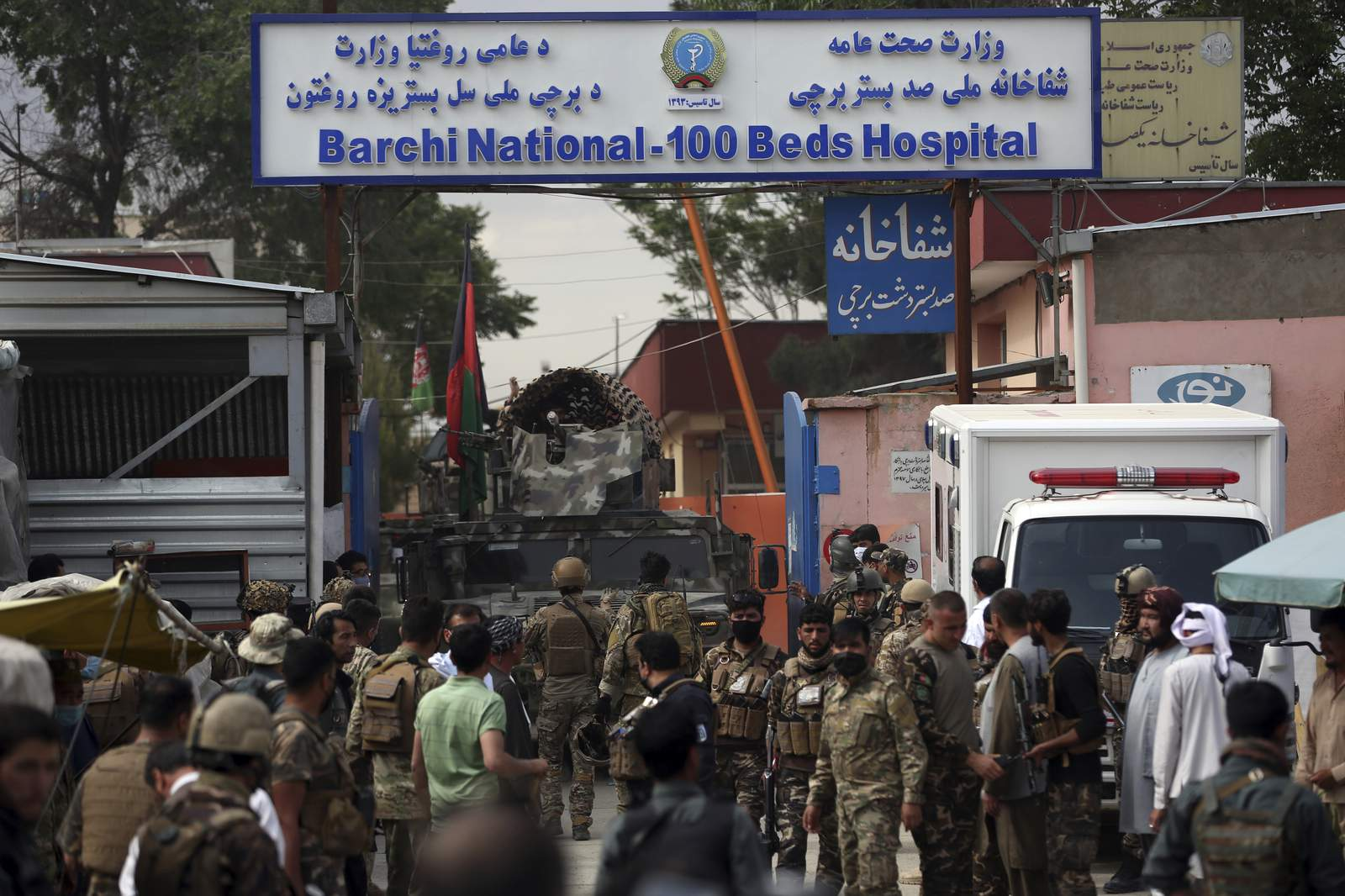 Afghan healthcare personnel were deliberately attacked