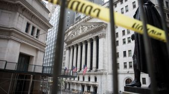 Stock futures flat after a sharp sell-off on Wall Street amid rising virus fears