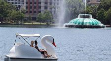 Swan boats return to Lake Eola with new health, safety practices