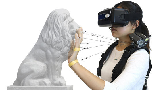 This New Technology Simulates Feel of Solid Objects in Virtual Reality