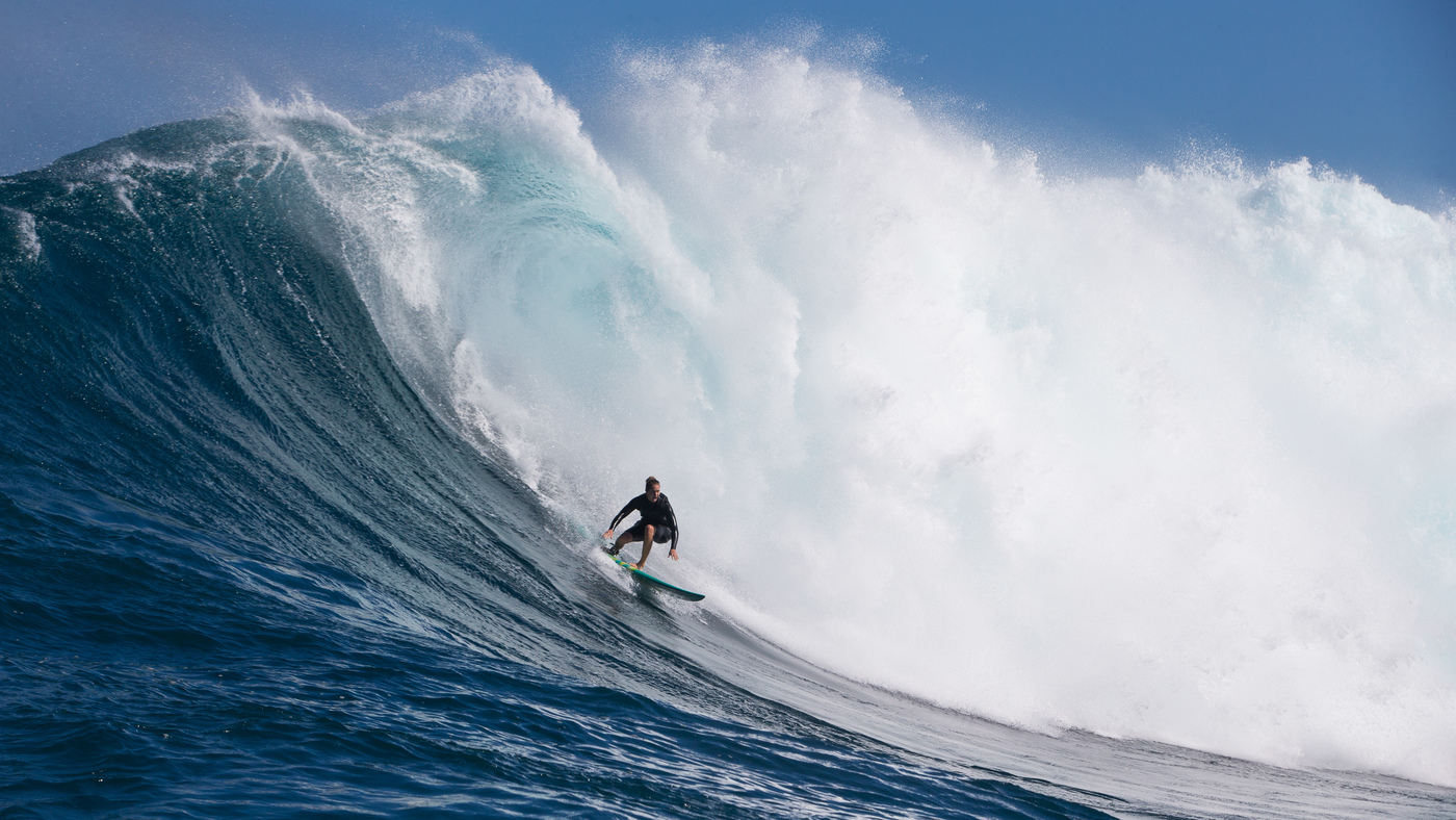 Surf Photographer Sachi Cunningham Is Making Waves In Breaking Waves : NPR