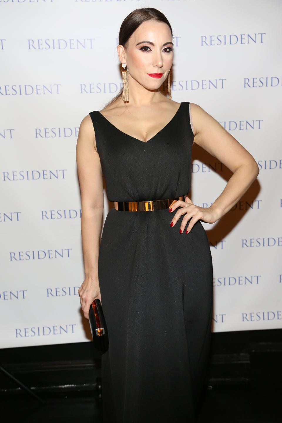 Janel Tanna's Cover Party By Resident Magazine