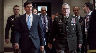 Mark Esper confirms he was briefed on intelligence about Russian payments to the Taliban