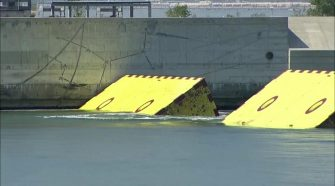 Venice test brings up floodgates for first time