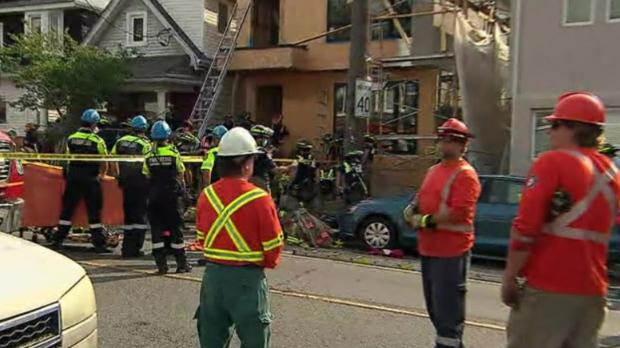 A man has died following a Toronto industrial accident