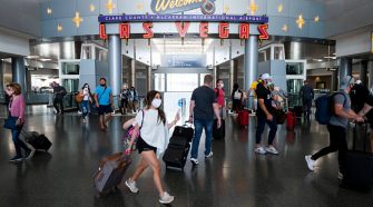 Air travel jumps July 4 weekend, but still down sharply from 2019 amid pandemic