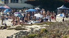 Carlsbad Police break up large beach party amid COVID-19 ban on gatherings