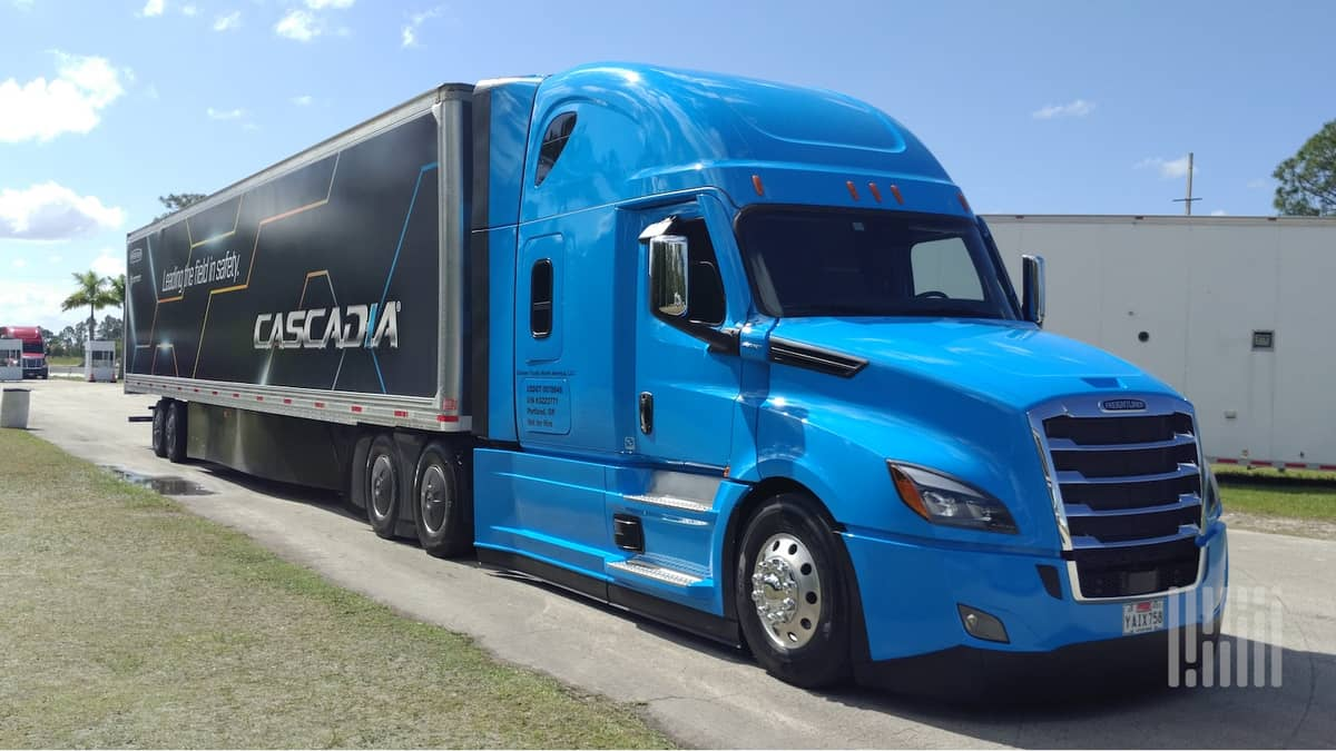 Freightliner Cascadia to include Platform Science technology
