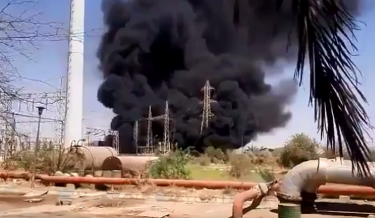 Explosion, fire break out at Iranian electric power station, state media report - Iran