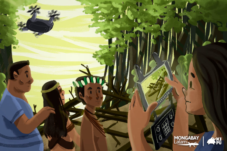 Using technology, indigenous monitors in the Amazon combat environmental crime