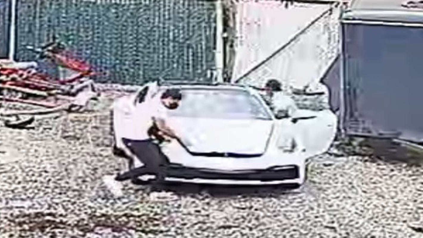 NJ State Police seek three for breaking into Porsche at Wayne tow yard