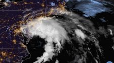 Record-breaking Tropical Storm Fay moves toward mid-Atlantic, New England