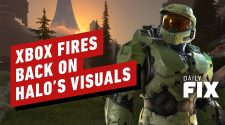 Xbox Fires Back On Halo Infinite's Visuals - IGN Daily Fix