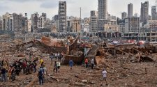 Ammonium nitrate stored in a warehouse linked to catastrophic Beirut explosion