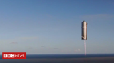 SpaceX: Musk's 'Mars ship' prototype aces 150m test flight