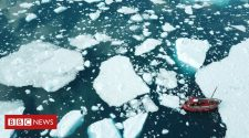 Climate change: 'Unprecedented' ice loss as Greenland breaks record