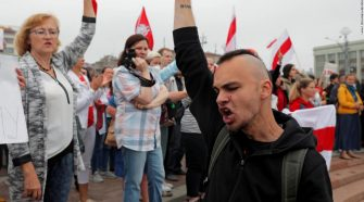 Belarus opposition protests begin amid heavy police presence