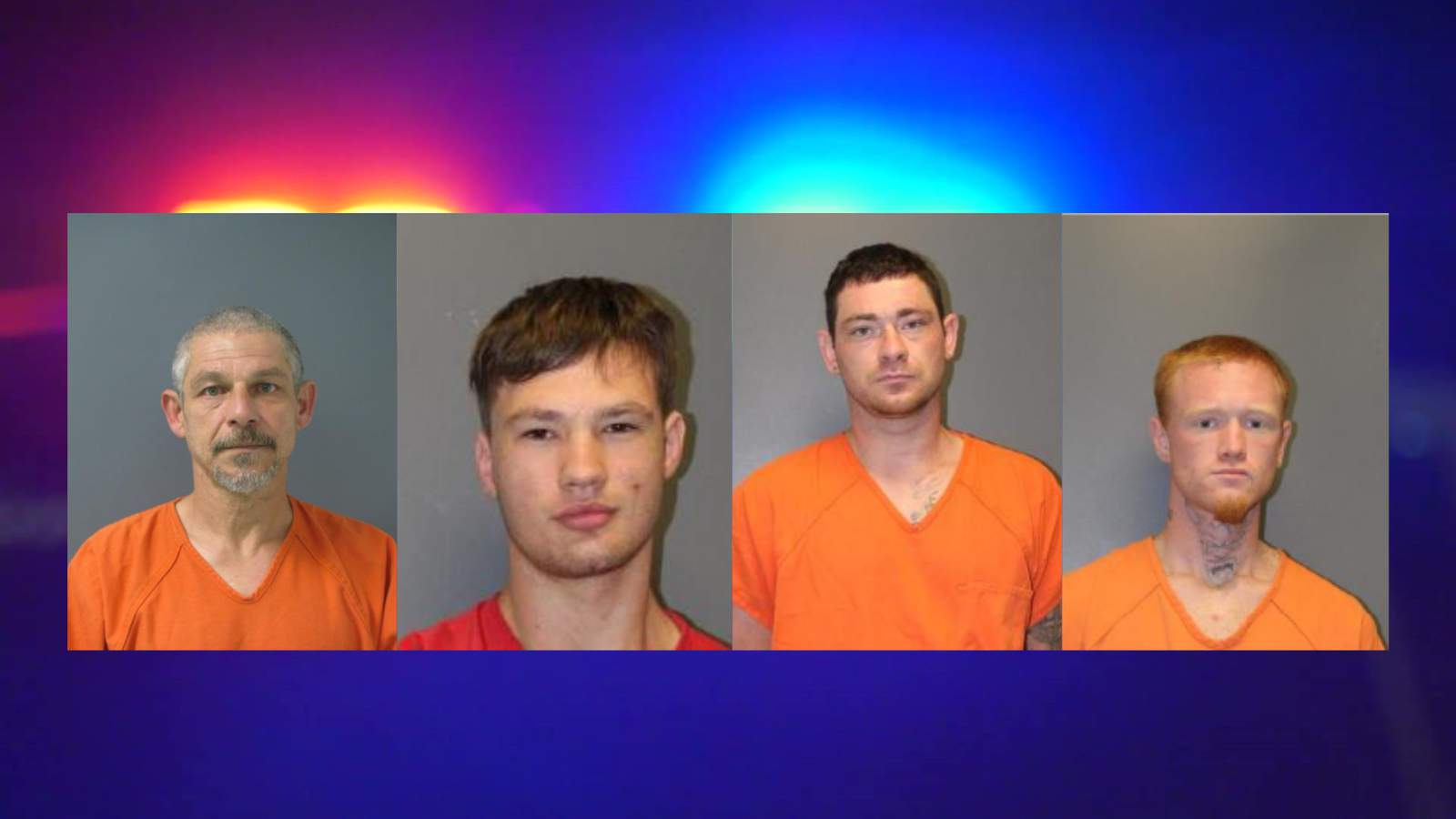 4 inmates charged following foiled jail break in Liberty County