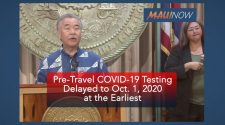 BREAKING: Pre-Travel COVID-19 Testing Program for Trans-Pacific Visitors Delayed to Oct. 1 at the Earliest | Maui Now