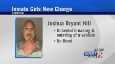Decatur man in jail without bond, charged with breaking and entering cars