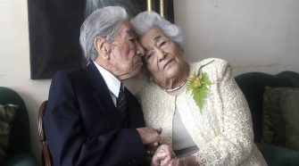 Ecuadorian spouses break record as the world's oldest married couple