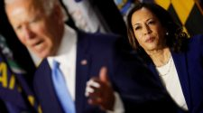Joe Biden, Kamala Harris appear together for first time as running mates