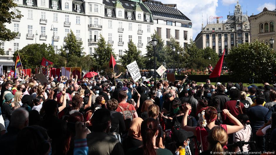 Norway: Clashes break out at anti-Islam rally | News | DW