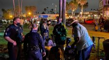 San Diego police break up crowds after complaints over large weekly gatherings in Ocean Beach