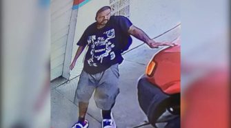 Video captures man breaking into several cars at auto repair shop in Galveston