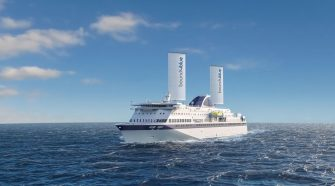 Wingsail Technology Uses Wind To Reduce Ships' Emissions By 30%